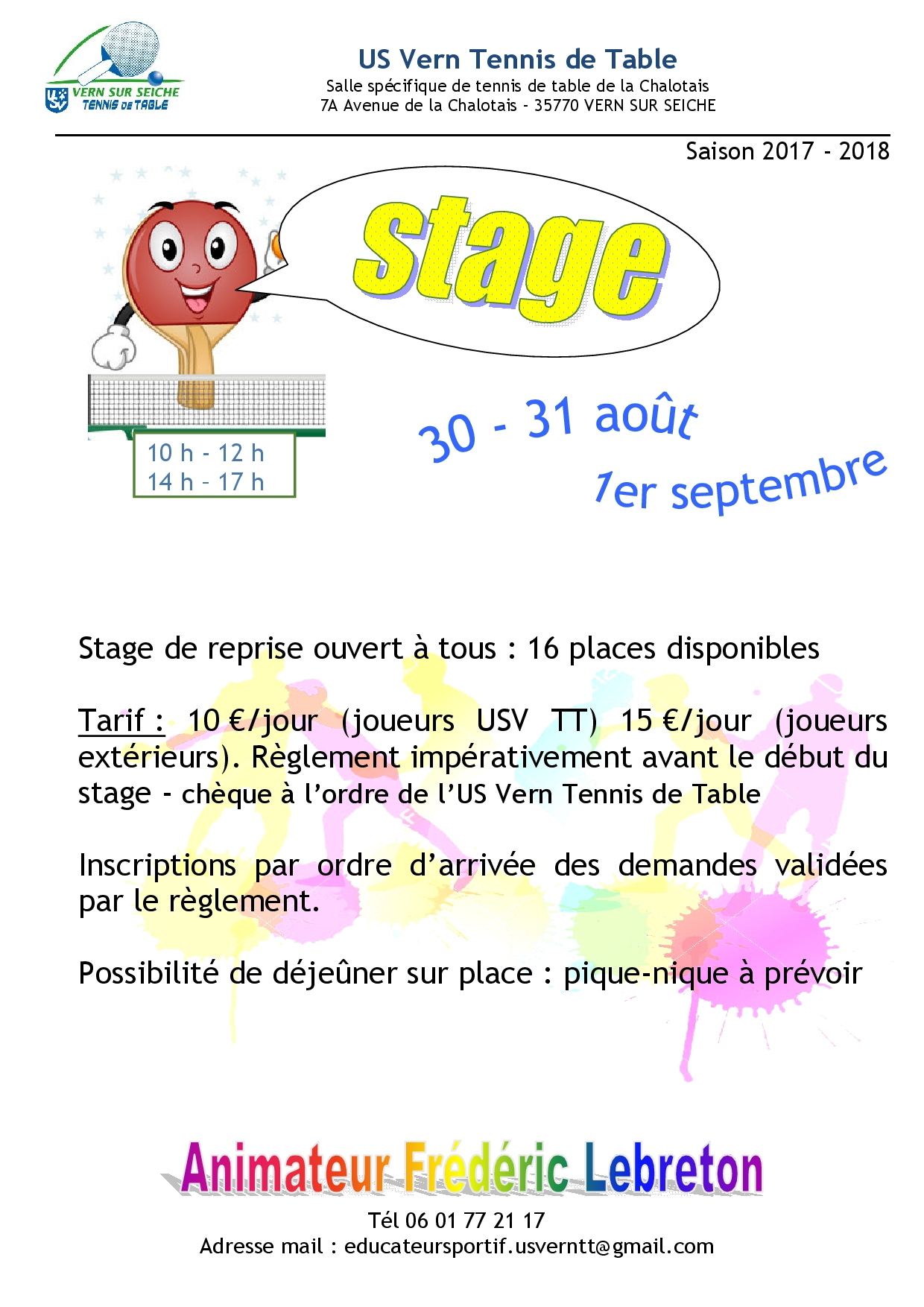stage reprise 17-18